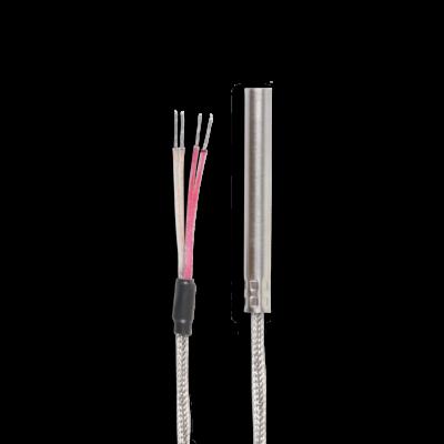 Mantel Rohr Glasfaser Widerstandsthermometer Mit Anschlussleitung Therma