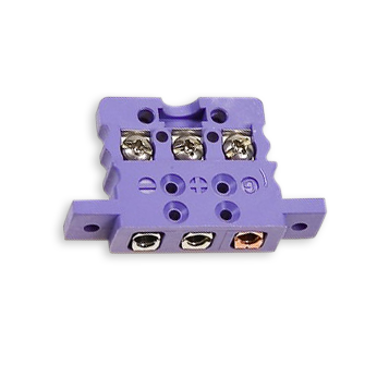 Thermoelemente Steckerverbindungen Miniatur Stecker Dreipolige Standard Einzeleinbaukupplung Psitl