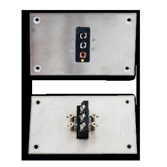 Thermoelemente Steckerverbindungen Miniatur Stecker Dreipoliger Hochtemperatur Standard Paneele Vertikal Pasvth