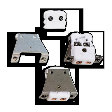 Thermoelemente Steckerverbindungen Miniatur Stecker Montagebuegel Steckverbinder Accpan