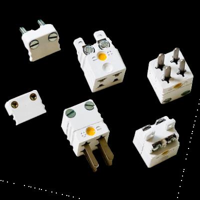 Thermoelemente Steckerverbindungen Miniatur Stecker Steckverbinder Duplex