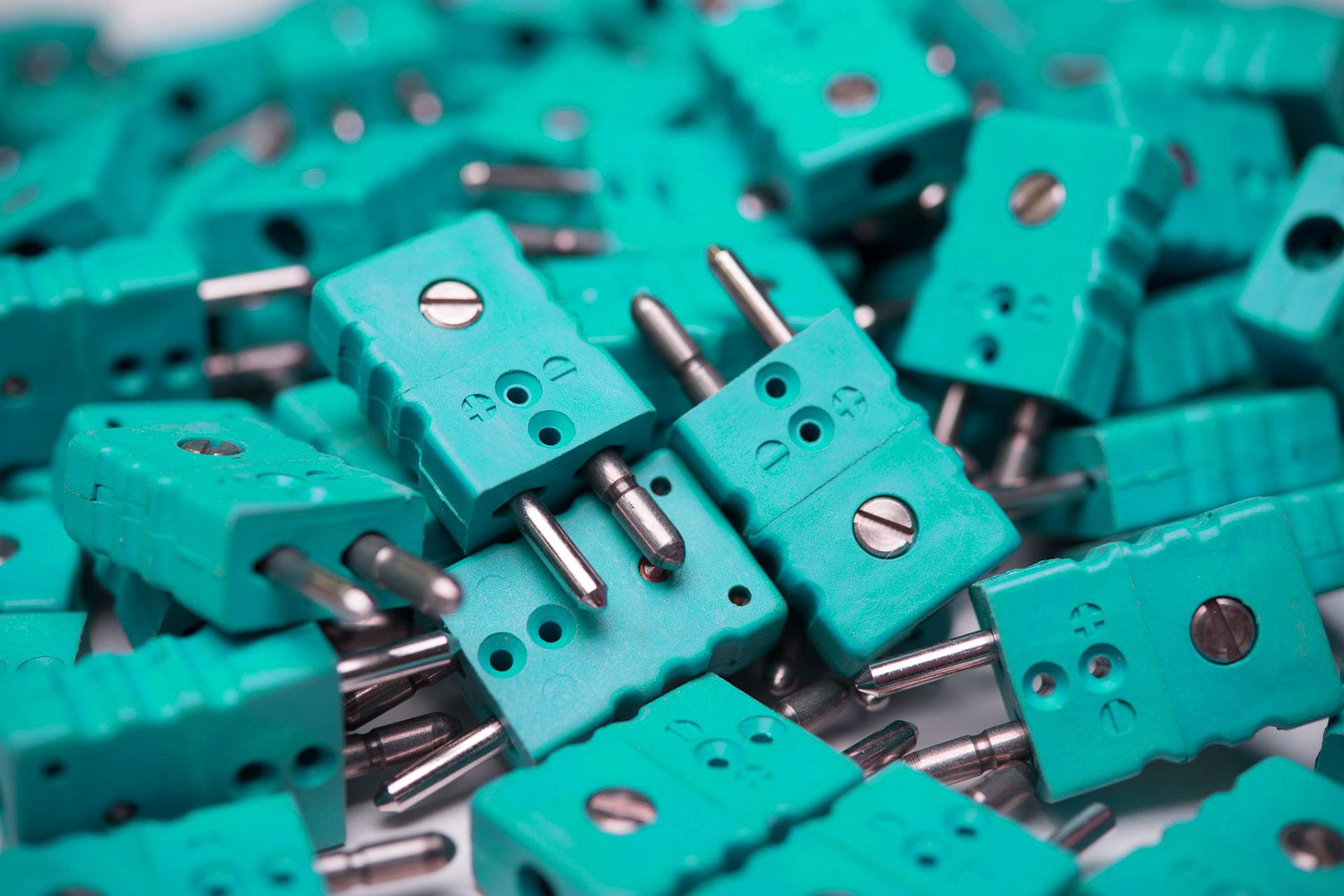 Thermoelemente Steckerverbindungen Standard Stecker