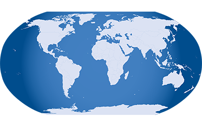 Flagge Welt